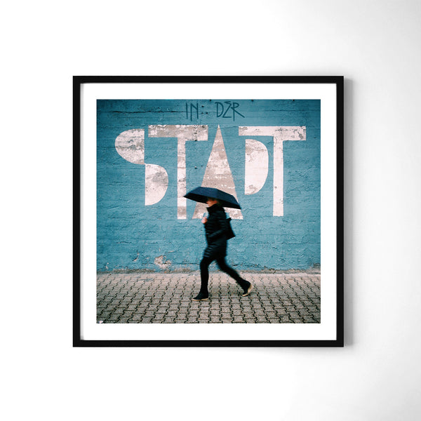 In der Stadt = in the city - Art Prints by Post Collective - 2