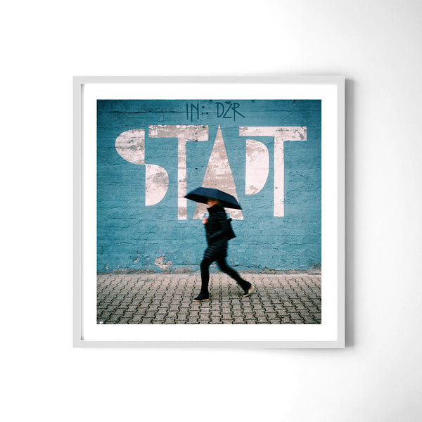 In der Stadt = in the city - Art Prints by Post Collective - 4