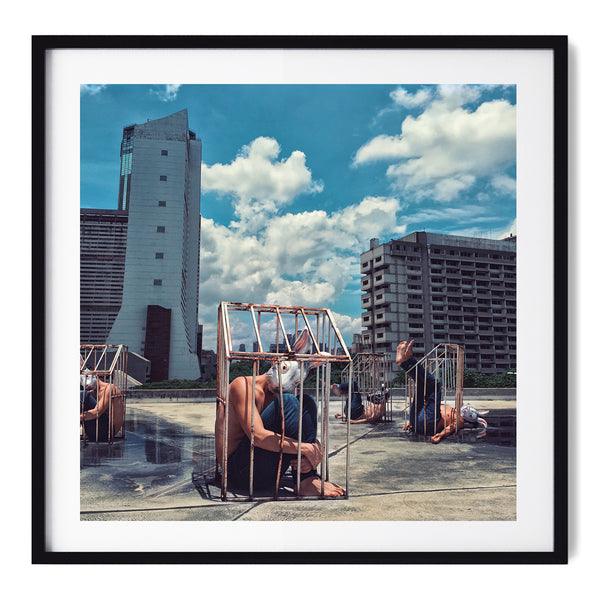 Iron Cage City - Art Prints by Post Collective - 1