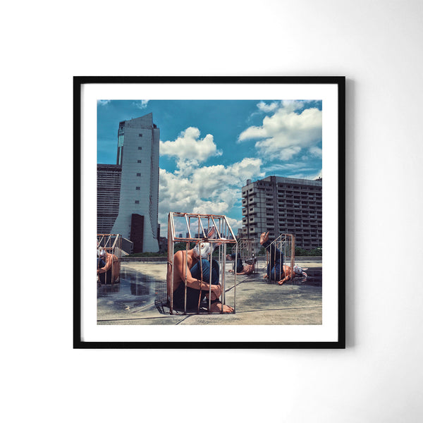 Iron Cage City - Art Prints by Post Collective - 2