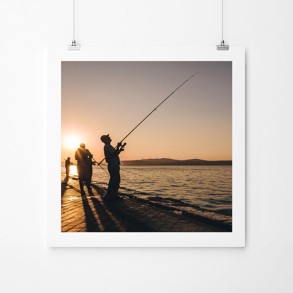 Istanbul Sunrise - Art Prints by Post Collective - 2
