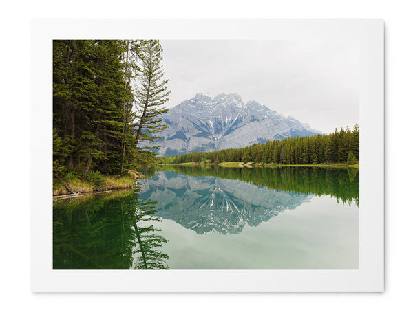 Johnson Lake - Art Prints by Post Collective - 1
