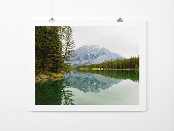 Johnson Lake - Art Prints by Post Collective - 2