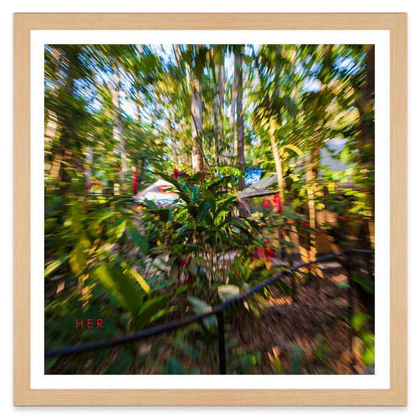 Jungle Trip - 40x40cm - Art Prints by Post Collective