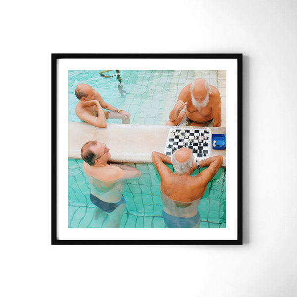 Kings In Water - Art Prints by Post Collective - 2