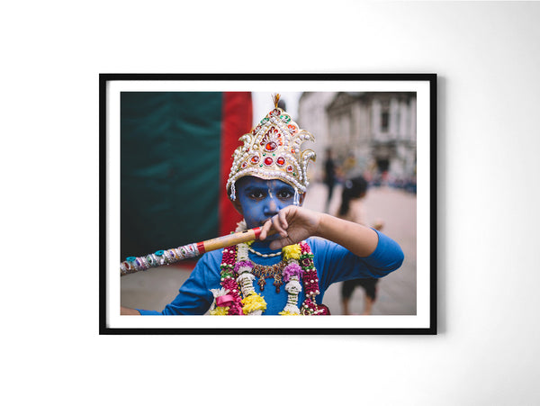 Krishna - Art Prints by Post Collective - 2