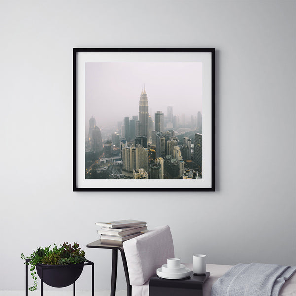 Kuala Lumpur In The Clouds - Art Prints by Post Collective - 5