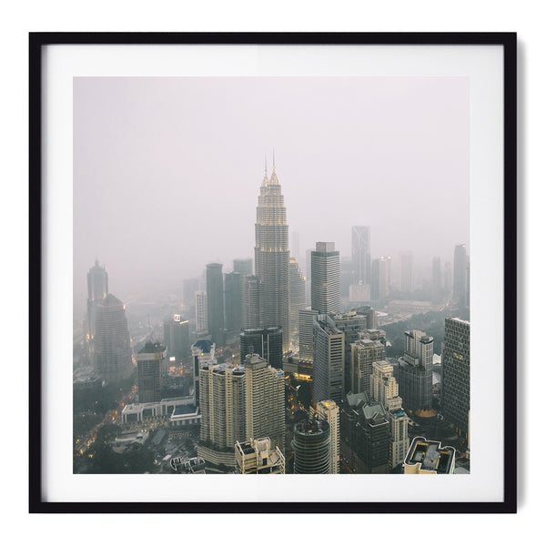 Kuala Lumpur In The Clouds - Art Prints by Post Collective - 1