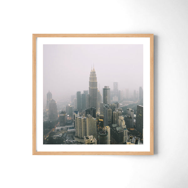 Kuala Lumpur In The Clouds - Art Prints by Post Collective - 3