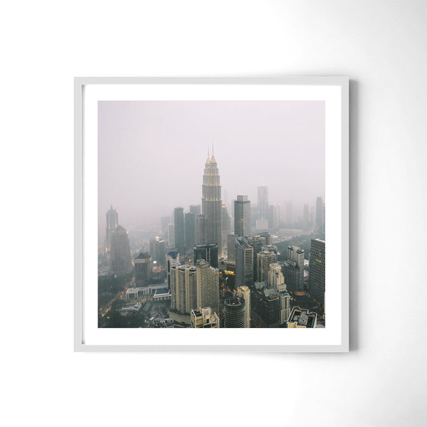 Kuala Lumpur In The Clouds - Art Prints by Post Collective - 4