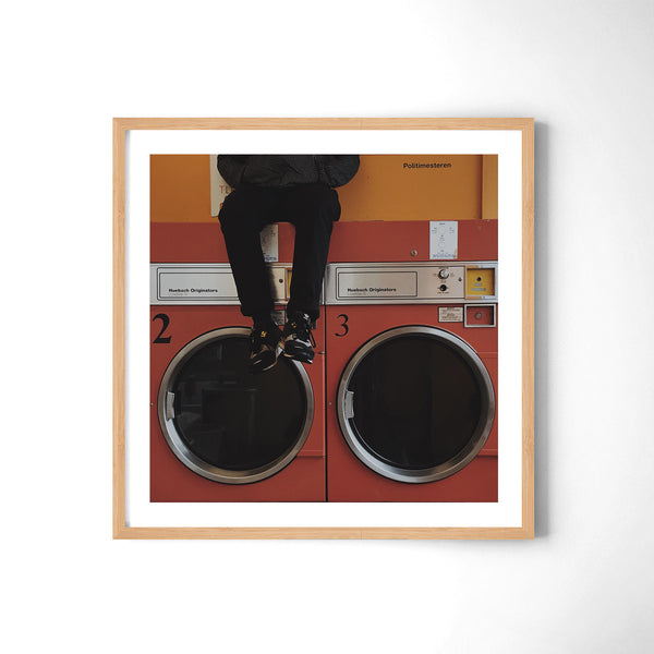 Laundromat Playground - Art Prints by Post Collective - 3