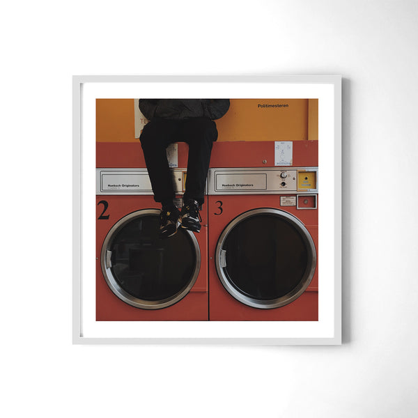 Laundromat Playground - Art Prints by Post Collective - 4