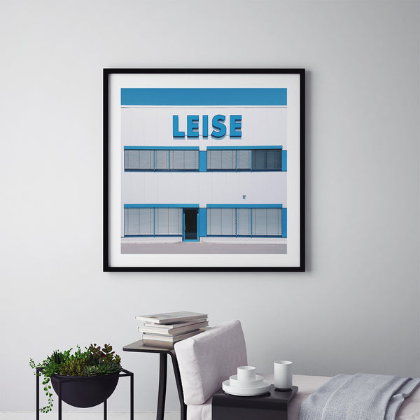 Leise = Quiet - Art Prints by Post Collective - 5