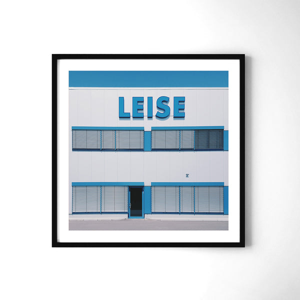 Leise = Quiet - Art Prints by Post Collective - 2