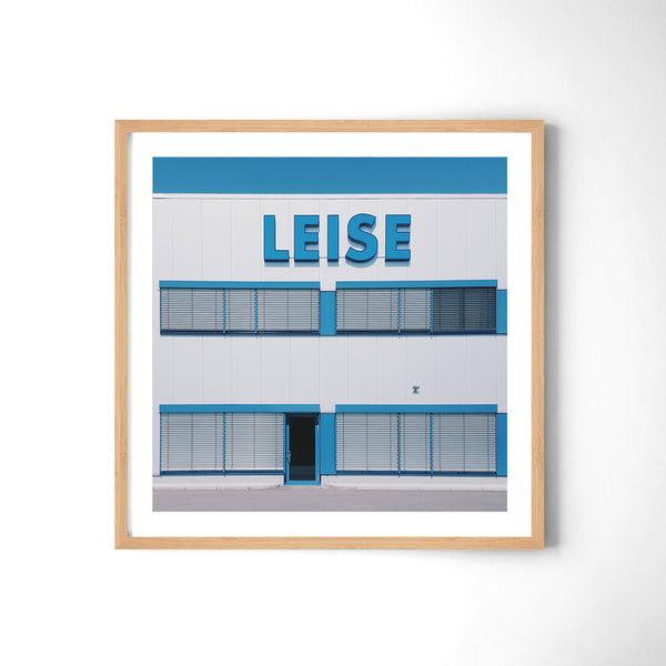 Leise = Quiet - Art Prints by Post Collective - 3