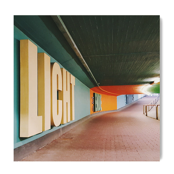 Licht am Ende des Tunnels = Light at the End of the Tunnel - Art Prints by Post Collective - 1