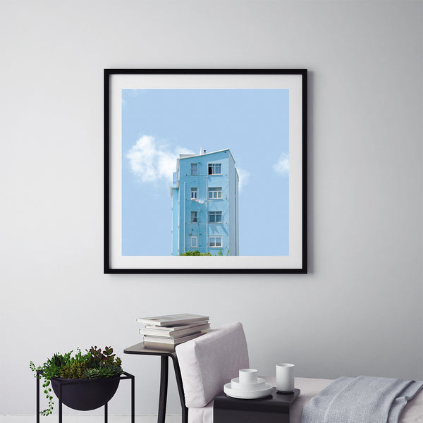 Light Blue - Art Prints by Post Collective - 5