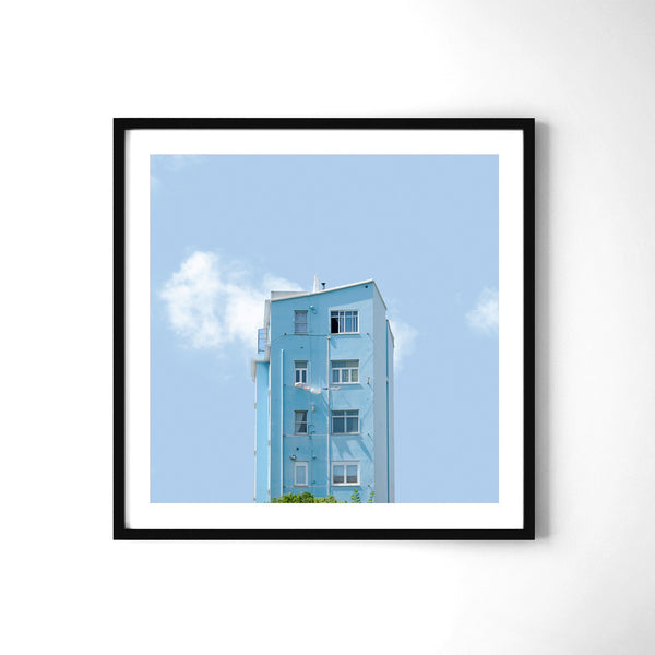 Light Blue - Art Prints by Post Collective - 2