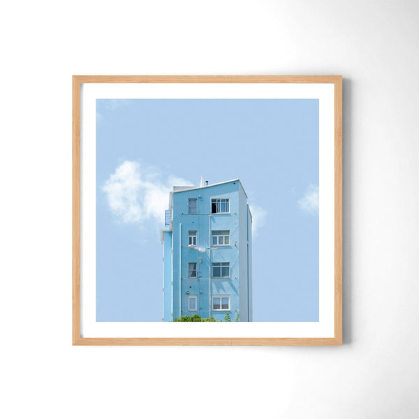Light Blue - Art Prints by Post Collective - 3