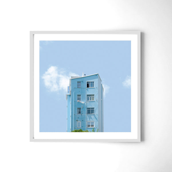 Light Blue - Art Prints by Post Collective - 4