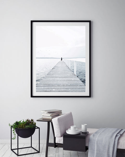 Lonely Jetty - Art Prints by Post Collective - 5