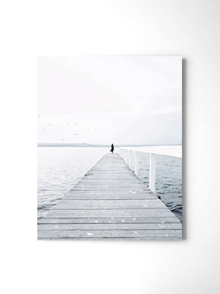 Lonely Jetty - Art Prints by Post Collective - 2