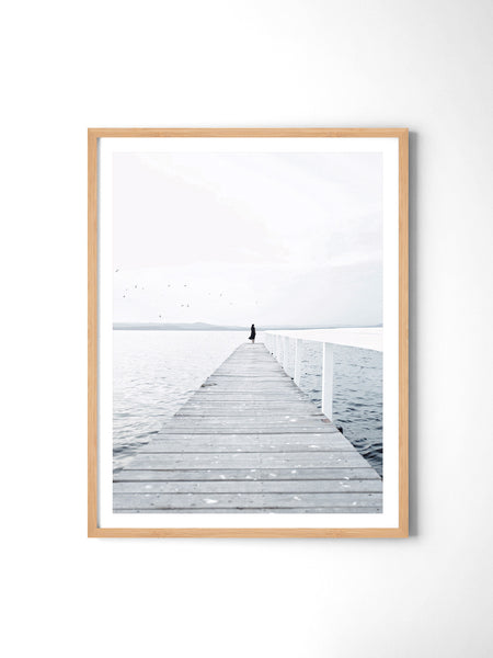 Lonely Jetty - Art Prints by Post Collective - 3