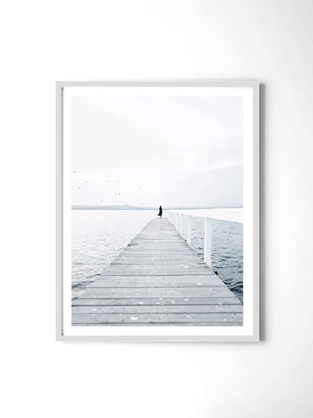 Lonely Jetty - Art Prints by Post Collective - 4