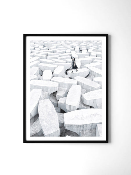 Lonely Planet - Art Prints by Post Collective - 2