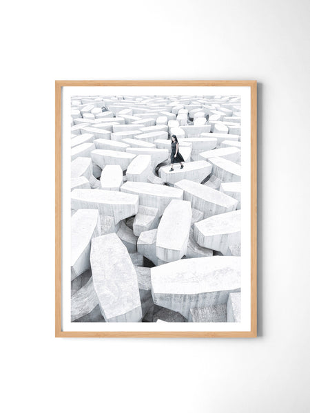 Lonely Planet - Art Prints by Post Collective - 3