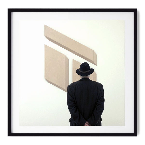 Man In A Hat At Tate Modern - Art Prints by Post Collective - 1