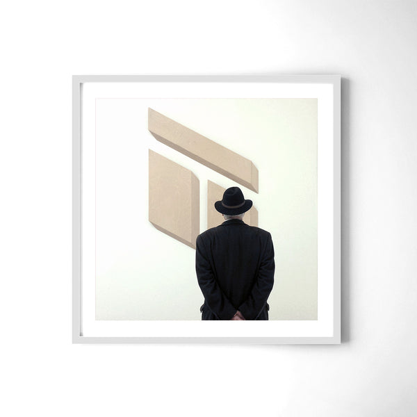 Man In A Hat At Tate Modern - Art Prints by Post Collective - 4