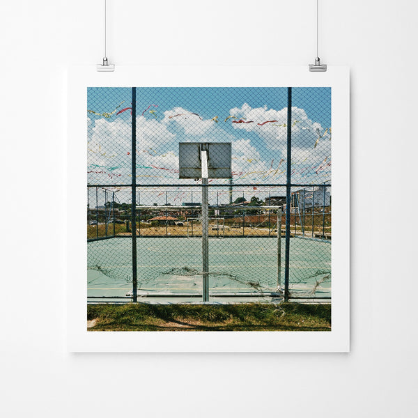 Manaus Streetball - Art Prints by Post Collective - 2