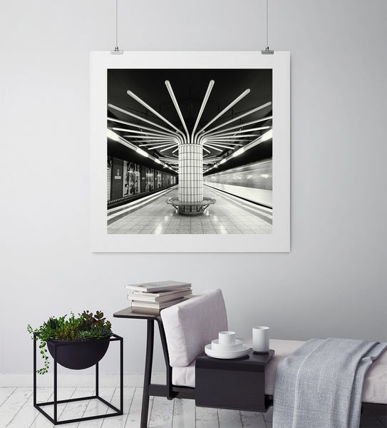 Metro Mandala - Art Prints by Post Collective - 3