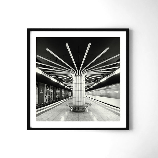 Metro Mandala - Art Prints by Post Collective - 2