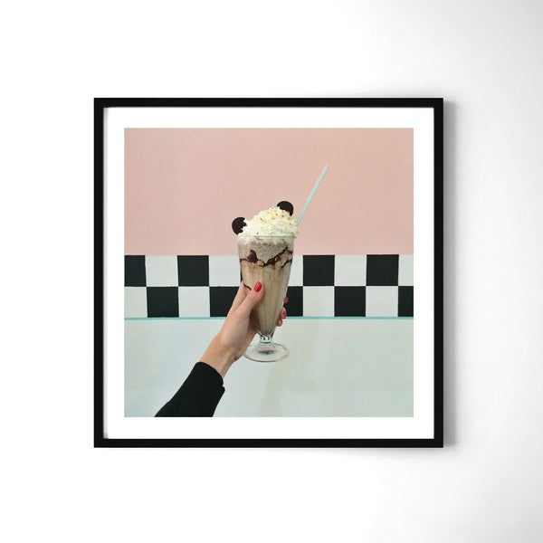 Milkshake - Art Prints by Post Collective - 2