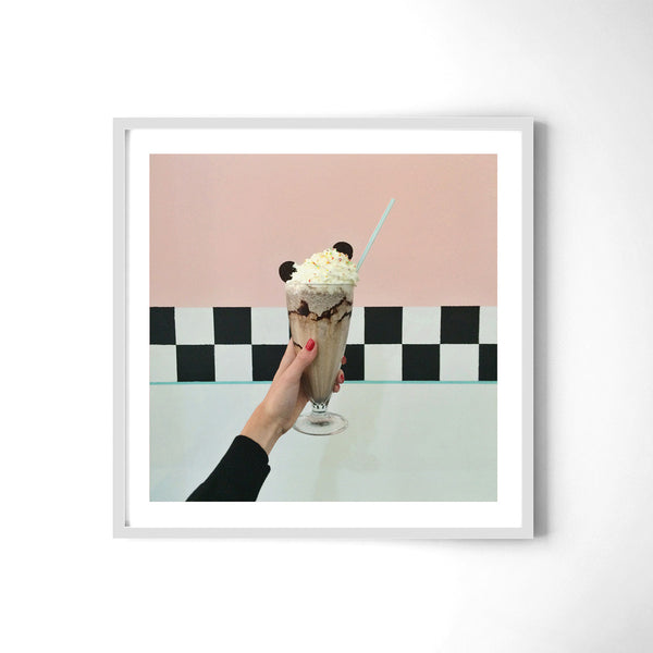 Milkshake - Art Prints by Post Collective - 4