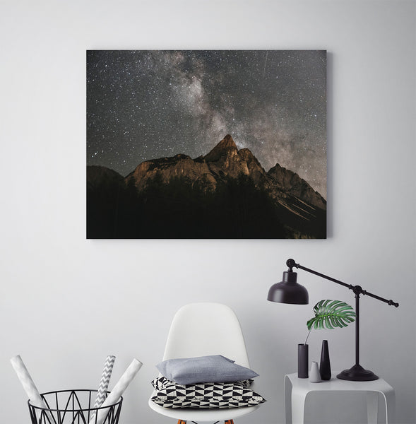 Milkyway Over Mountains - Art Prints by Post Collective - 3