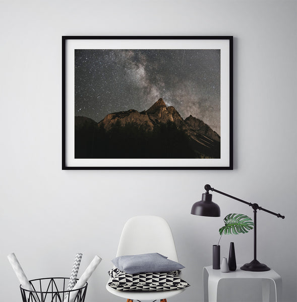 Milkyway Over Mountains - Art Prints by Post Collective - 5