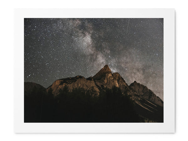 Milkyway Over Mountains - Art Prints by Post Collective - 1