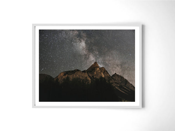 Milkyway Over Mountains - Art Prints by Post Collective - 4