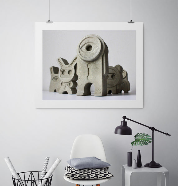 Miniatures 46 - Art Prints by Post Collective - 3
