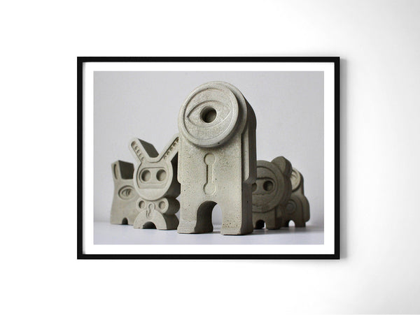 Miniatures 46 - Art Prints by Post Collective - 2