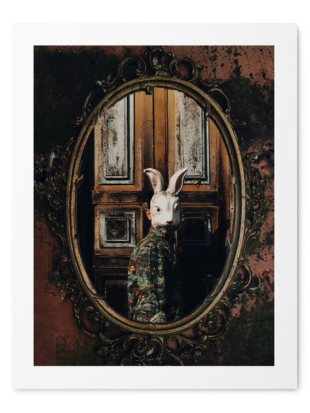 Mirror, Mirror On The Wall - Art Prints by Post Collective - 1