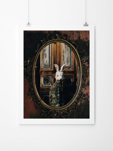 Mirror, Mirror On The Wall - Art Prints by Post Collective - 2