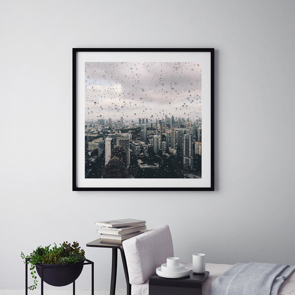 Moody Days In Singapore - Art Prints by Post Collective - 5