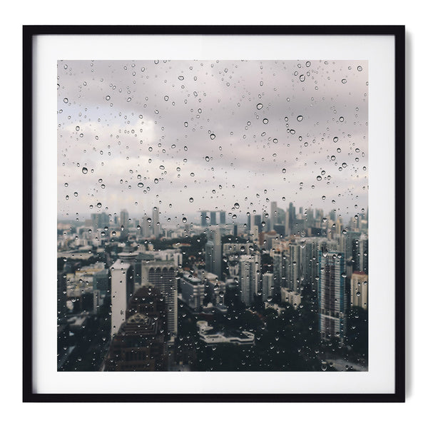 Moody Days In Singapore - Art Prints by Post Collective - 1