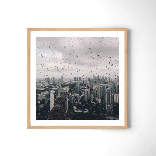 Moody Days In Singapore - Art Prints by Post Collective - 3