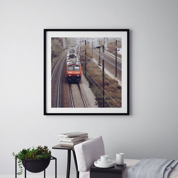 Morning Train - Art Prints by Post Collective - 5