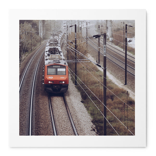 Morning Train - Art Prints by Post Collective - 1